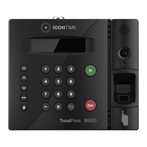Icon Time Total Pass B600 Biometric Fingerprint