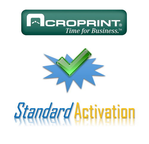 Acroprint Activation for AcroTime Standard Web Hosting