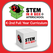 TechTerra STEM in a Box for K-2nd: A Full Year of Weekly STEM Lessons In & Outside the School Day