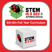 TechTerra STEM in a Box for 6th-8th: A Full Year of Weekly STEM Lessons In & Outside the School Day