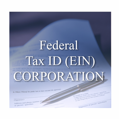 The EIN (Employer Identification Number) also called your Federal Tax Identification Number, is the unique number the IRS assigns to your Nevada Corporation, and is used on all Federal income tax filings. As a stand alone service, or is included in our Turnkey Corporation packages.