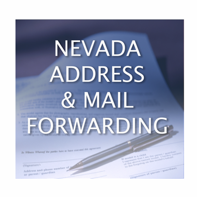 The Nevada Address & Mail Forwarding Service is a quick and confidential way to keep your personal information off public record and receive your business mail at your Nevada address. First time subscribers only: We will add 65% more Postage Allowance your first year! Service provided ONLY to clients of Resident Agents of Nevada, Inc.