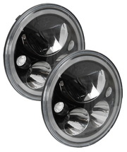 "Vision X Pair of 7"" LED Headlamps in Black"