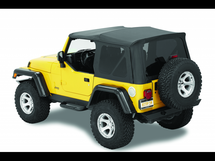 Bestop 54721 Supertop NX Soft Top for LJ Wrangler 2003-2006