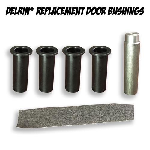 Delrin Replacement Door Hinge Bushings Wrangler Jk 2 Door