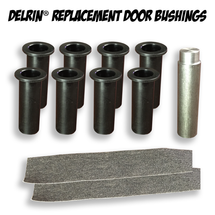 Delrin Replacement Door Bushing Kit for Jeep Wrangler JK 4 Door