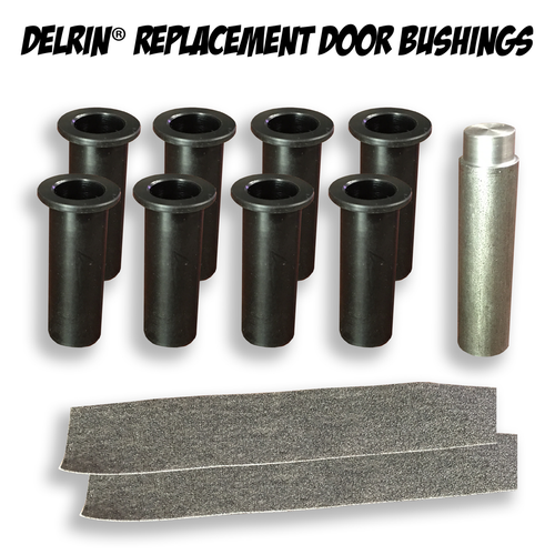 Jk Door Bushings Amp Tmr Jeep Delrin Door Hinge Liners For