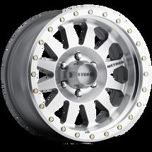 Method Race Wheel MR30468012300 Double Standard Machined/Clear Coat Wheel
