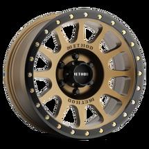 Method Race Wheel MR30568060900 Bronze Wheel