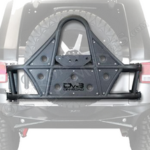 DV8 TCSTTB-01 Body Mounted JK Tire Carrier