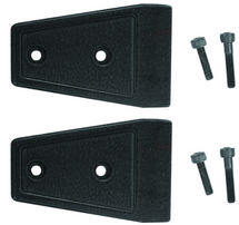 Rugged Ridge Door Hinge Overlay Set- Textured Black- Pair (Wrangler JK 2007+)