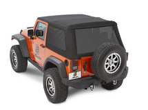 Bestop 54922-35 TrekTop NX Glide for Jeep Wrangler JK 2 Door 2007-2018