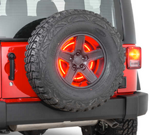 Rugged Ridge Third Brake Light LED Ring (Wrangler TJ/LJ, JK 1997+)