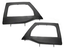Rugged Ridge Front Upper Soft Doors- Black (Wrangler JK 2007+)