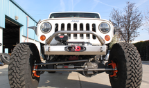 VKS Fabrication Shorty V3 Front Winch Bumper (Wrangler JK 2007+)