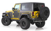 Smittybilt 76992 MAG Magnetic Trail Armor Skins for Jeep Wrangler JK 2 Door 2007-2017