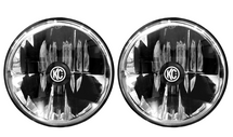 "KC Hilites 42351 Gravity LED 7"" Round Headlight Pair-DOT for Jeep Wrangler TJ, LJ & JK 1997-2018"