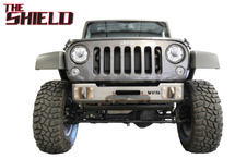VKS Fab TSFWB The Shield Front Winch Bumper for Jeep Wrangler JK 2007-2018