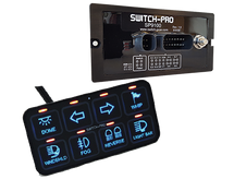 Switch Pros SP-9100 Bezel Style 8 Switch Panel Power System with Concealed Mounting Hardware