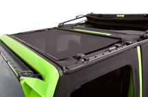 Bestop 52405-11 Retractable Sunshade for Jeep Wrangler JK 2007-2018