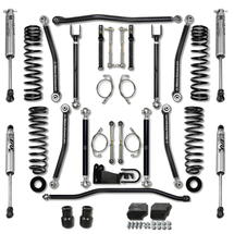 "Rock Krawler 3.5"" X-Factor Package with FOX 2.0 IFP Shocks (Jeep Wrangler JK 2007-18)"