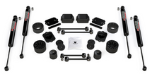 "TeraFlex 1365360 2.5"" Performance Spacer Lift Kit w/ 9550 VSS Shocks for Jeep Wrangler JL 2 Door Rubicon"