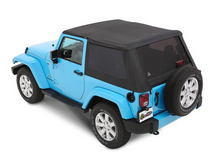 Bestop 56852-35 All New TrekTop Soft Top in Black Diamond for Jeep Wrangler JK 2 Door 2007-2018
