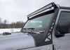 Fishbone Offroad FB21058 Windshield Light Bracket for Jeep Wrangler JL 2018+