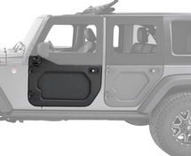 Bestop 5173001 Core Door Front Pair for Jeep Wrangler JK 2007-2018