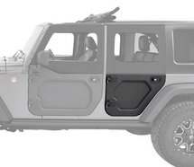 Bestop 5173101 Rear Core Door Pair for Jeep Wrangler JK 4 Door 2007-2018