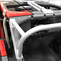 Rock Hard 4x4 RH-90702 Bolt In Ultimate Sport Cage C-Pillar Brace Kit for Jeep JL 4 Door 2018+