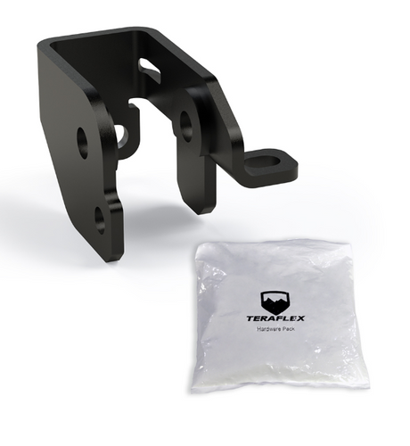 "TeraFlex 1953500 Front Track Bar Axle Bracket Kit 4.5"" Lift for Jeep Wrangler JL 2018+"