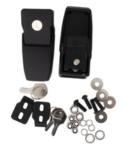 Rampage Products 76337 Locking Hood Catch Kit for Jeep Wrangler JL 2018+