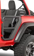Rugged Ridge 11509.14 Rear Tube Doors for Jeep Wrangler JL 4 Door 2018+