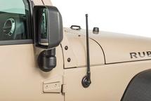 "Rugged Ridge 17212.10 13"" Stubby Reflex Antenna for Jeep Wrangler JK & JL 2007+"