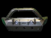 Motobilt MB1090F-S-1094 Front Hammer Series Bumper with Stinger & Skid Plate for Jeep Wrangler JL 2018+