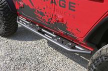 Rampage Products 88735 SRS Trailcrawler Side Steps for Jeep Wrangler JL 4 Door 2018+