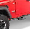 N-Fab JK182RKRS2 Rock Rails with Step for Jeep Wrangler JL 2 Door 2018+