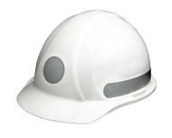 Liberty  Circle - Reflective Hard Hat - Silver -