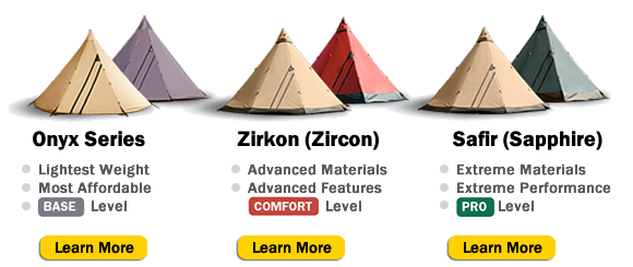 Buy Tentipi tents and stoves in USA and Canada