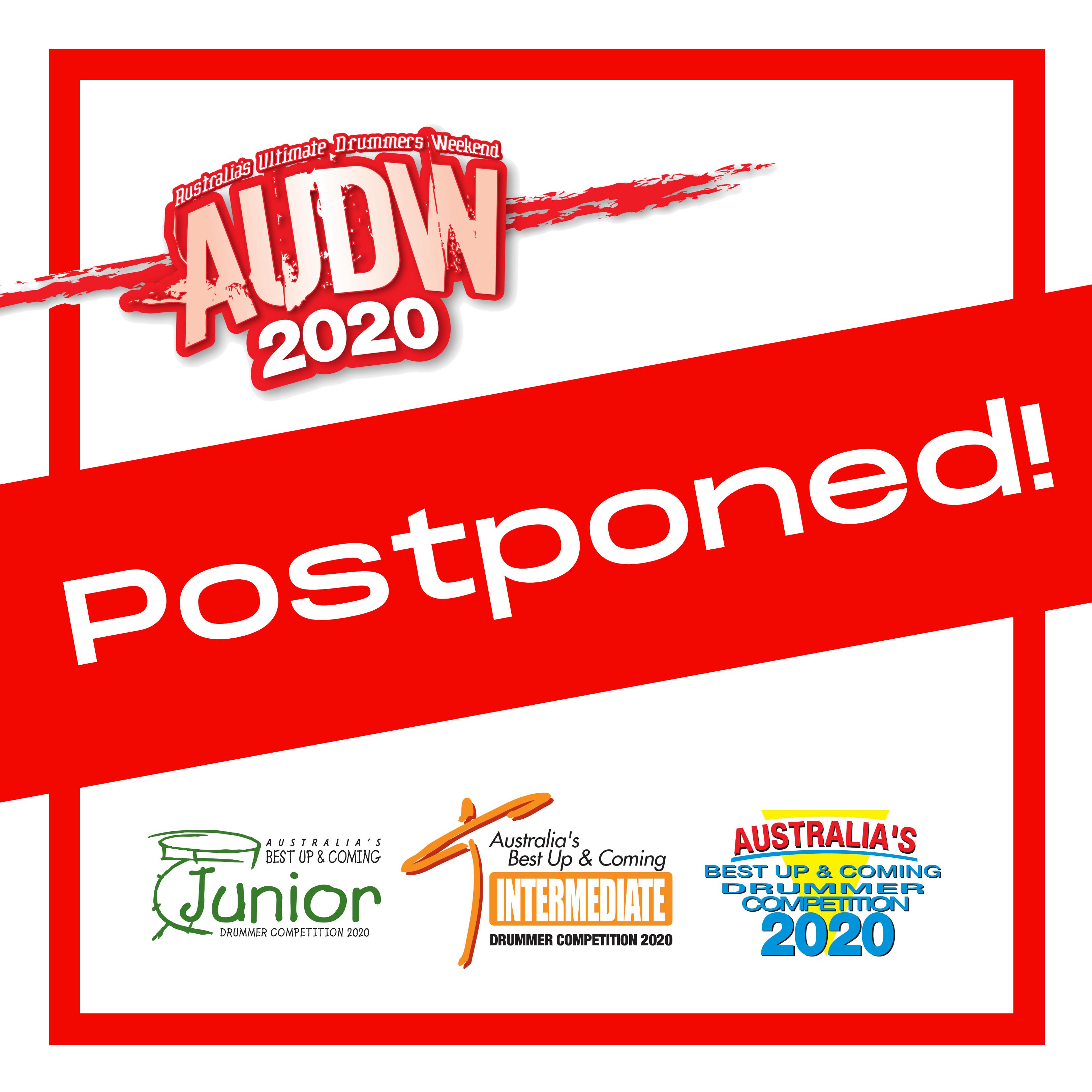 AUDW 2020 Postponed