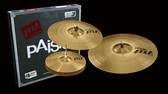 "Paiste PST3 Universal Cymbal Pack (14"", 16"", 20"")"