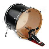 "Evans 20"" Clear G2 Bass Drum"