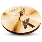 "Zildjian 13"" K Custom Dark Hi-Hat Pair"