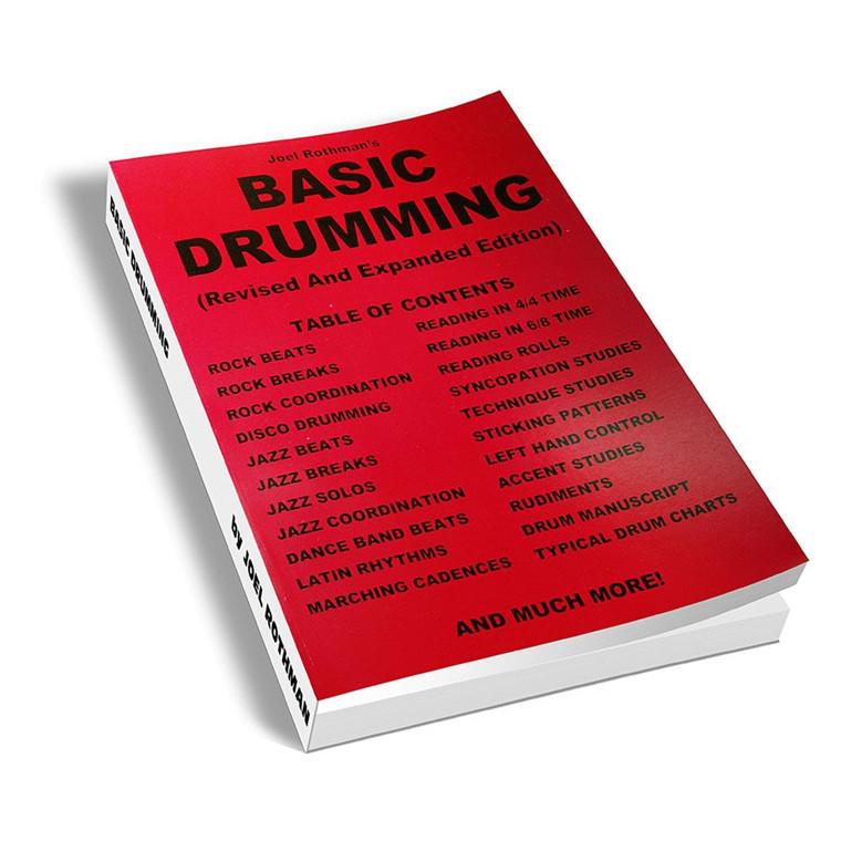 Basic Drumming - Joel Rothman (Book Only) Revised New Edition - Drumtek Store