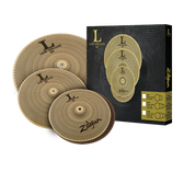 "Zildjian L80 - LV348 Low Volume Cymbal Pack (13"", 14"", 18"")"
