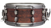 "Mapex Black Panther 12 x 5.5"" Maple / Walnut Warbird Snare Drum + Bonus Snare Hardcase"