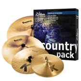 "Zildjian Country Cymbal Pack (15"", 17"", 19"", 20"")"