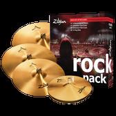 """Zildjian Rock Cymbal Pack (14"""", 17"""", 19"""", 20"""")"""