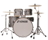 "Sonor AQ2 - 5 Piece (22"", 10"", 12"", 16"", 14X6"" SNR) with Hardware"